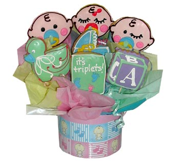 Baby Faces Basket