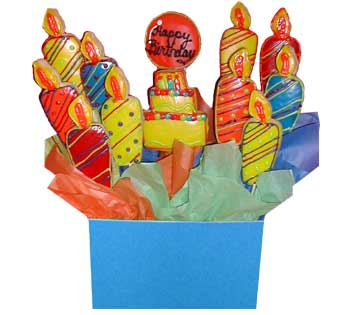 Birthday Cookie Basket