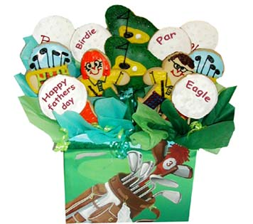 Father's Day Cookie Basket