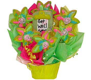 Get Well Cookie Basket