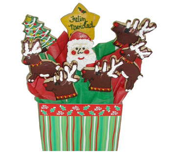 Christmas Cookie Basket