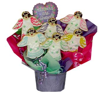 Mothers Day Cookie Basket
