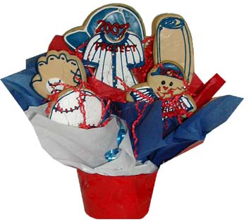 Sports Cookie Basket